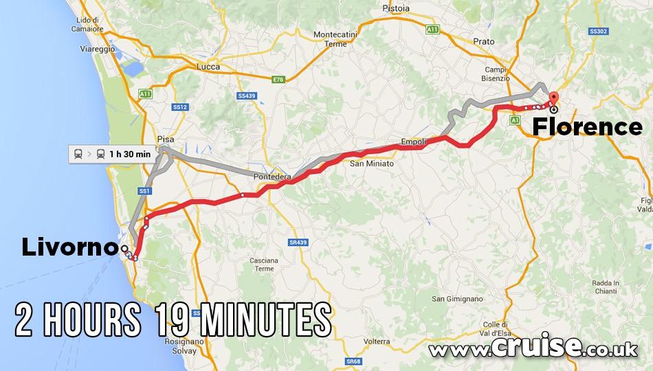 Livorno to Florence
