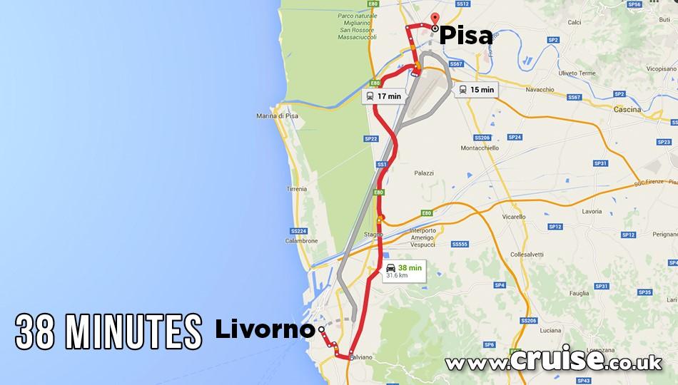 Livorno to Pisa