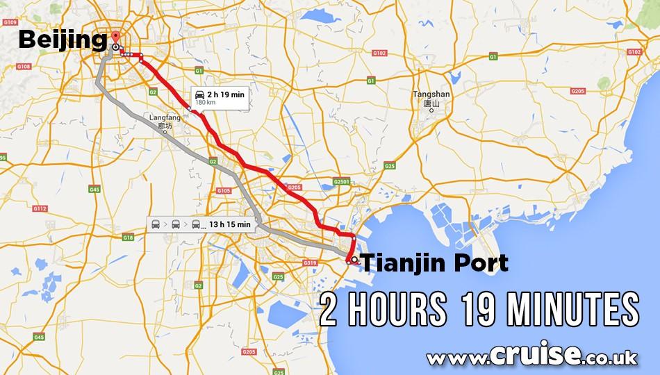 Tianjin Port to Beijing