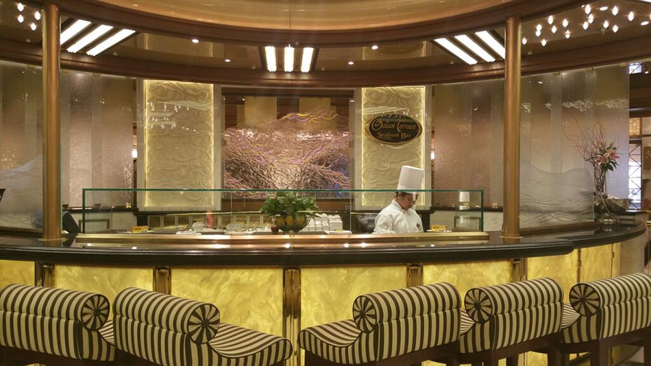 Princess Cruises - seafood bar