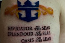 Royal Caribbean Tattoo