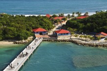 Dock at Labadee