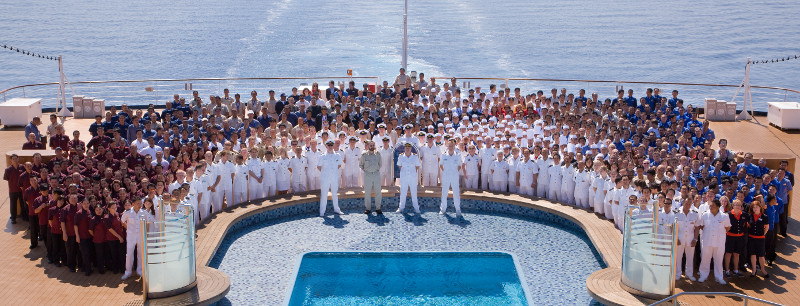 Holland America staff