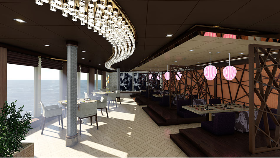 Speciality restaurant MSC Seaside