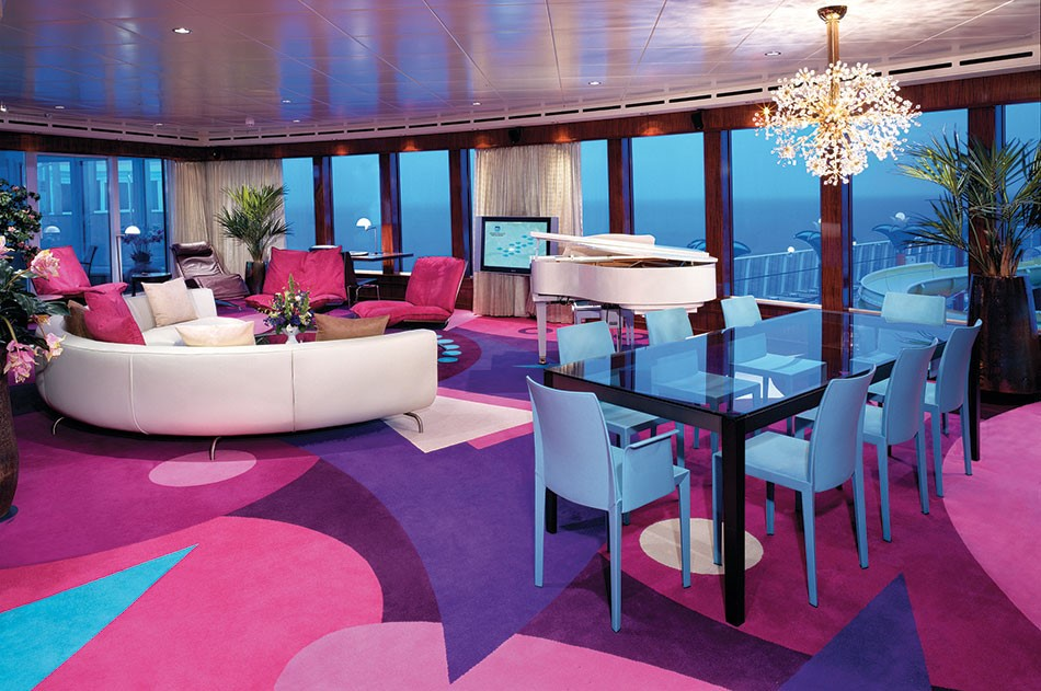 suites at sea