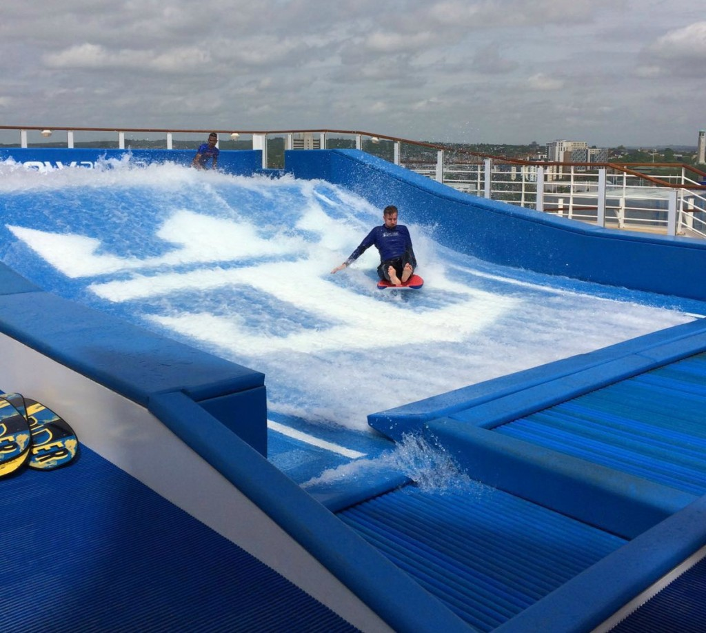 flowrider on harmony of the seas