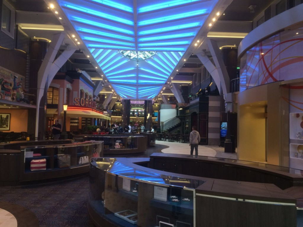 royal promenade on harmony of the seas