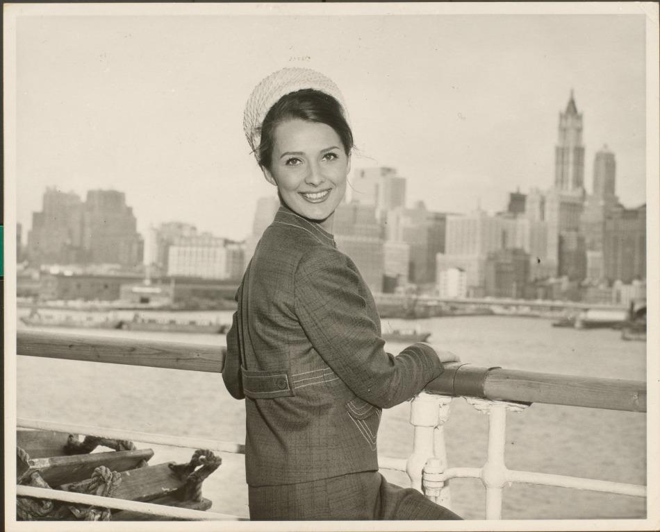 Cunard Passenger 1950