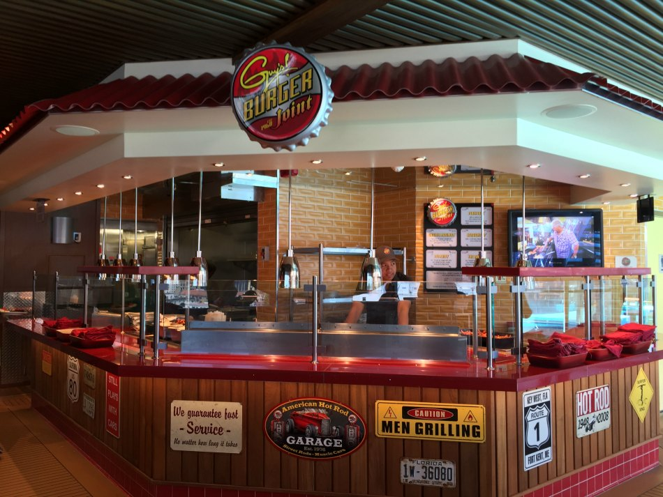 carnival vista burger joint