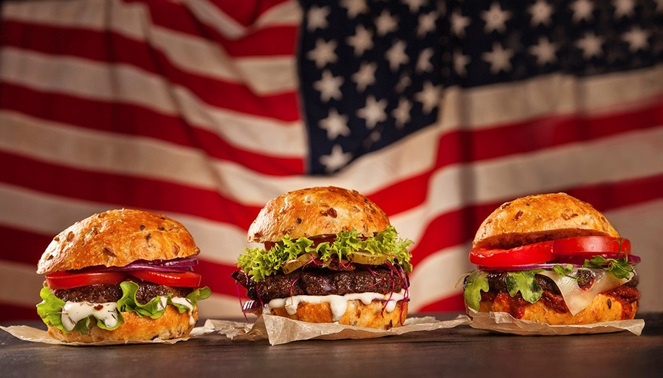 american style burgers