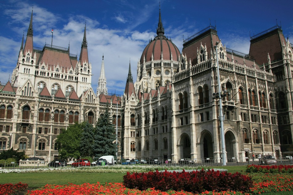 Budapest parliament on shore excursion