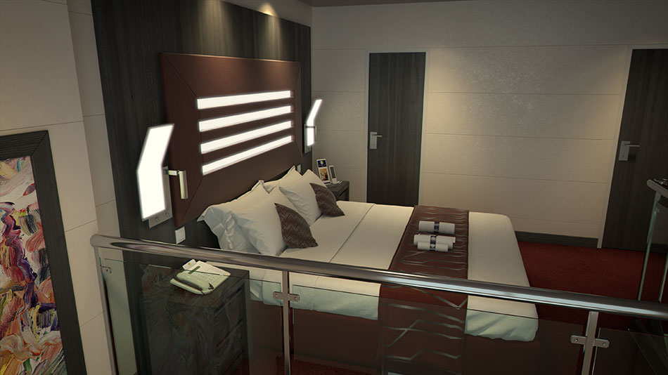 msc new ship suite