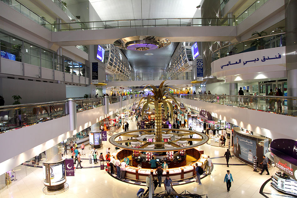 Dubai airport shopping