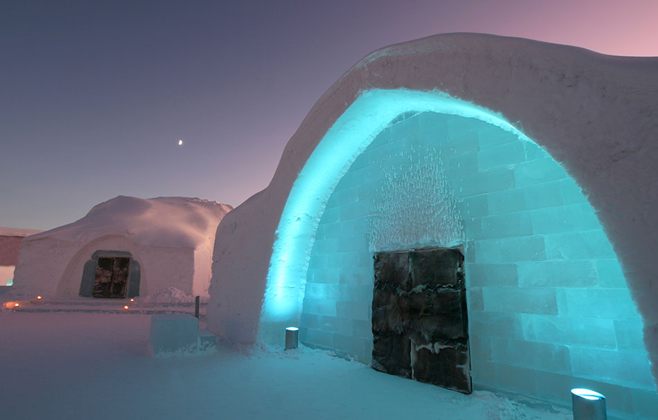 experiences ice hotel