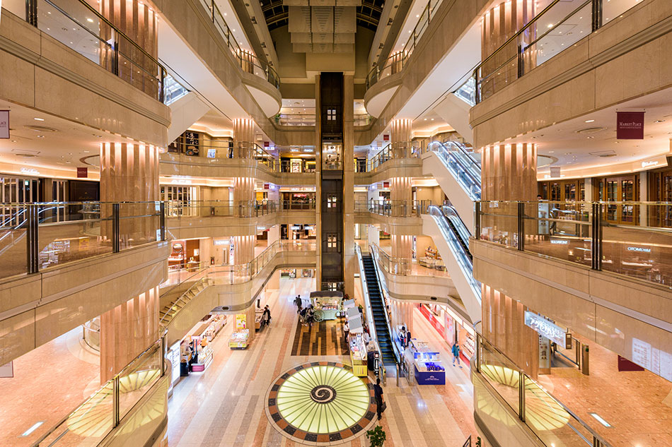 Tokyo airport shopping