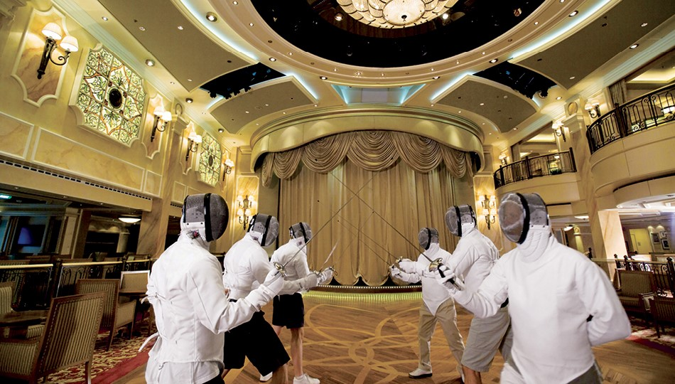 Olympics on Cruise Ships Fencing
