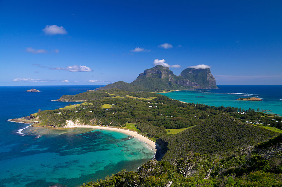 secret beaches Lord Howe Island, Australia