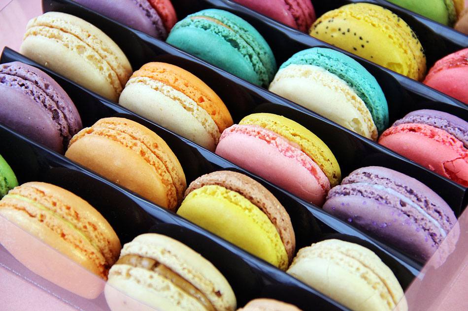 spend 3 hours in gerard mulot macarons