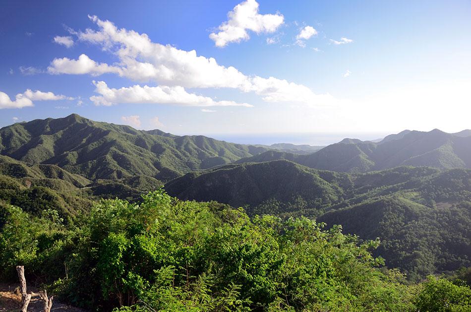 Pico Turquino Cuba's highest peak