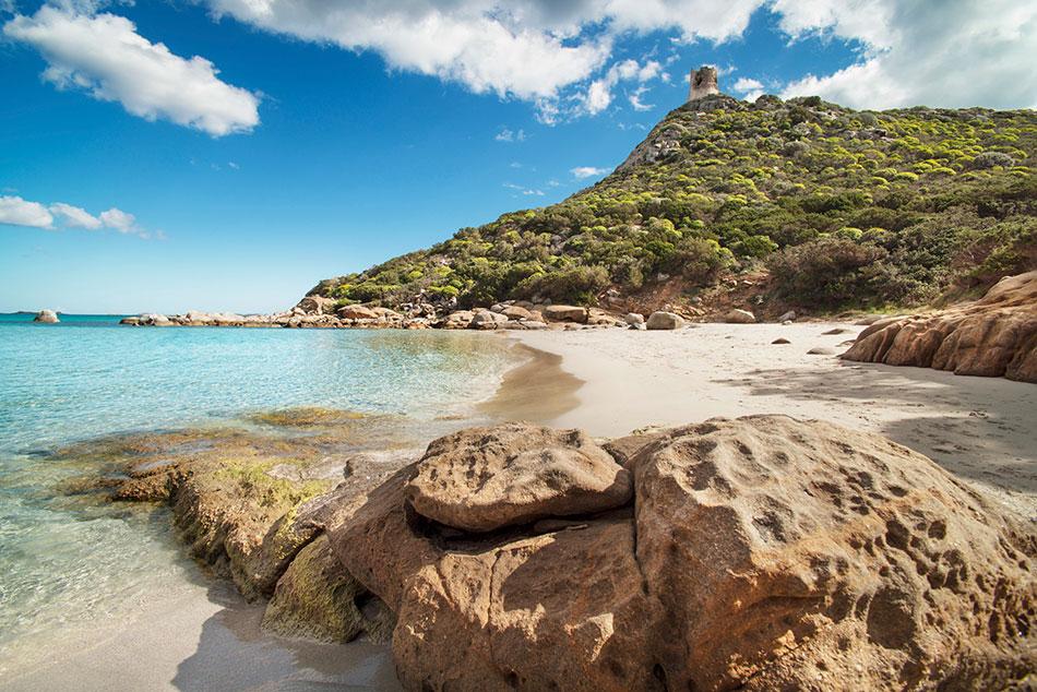 secret beach Plaga de Saleccia, Corsica