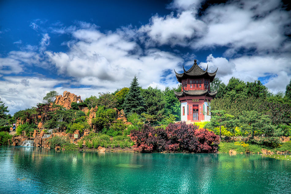 chinese botanical gardens in Montreal canada