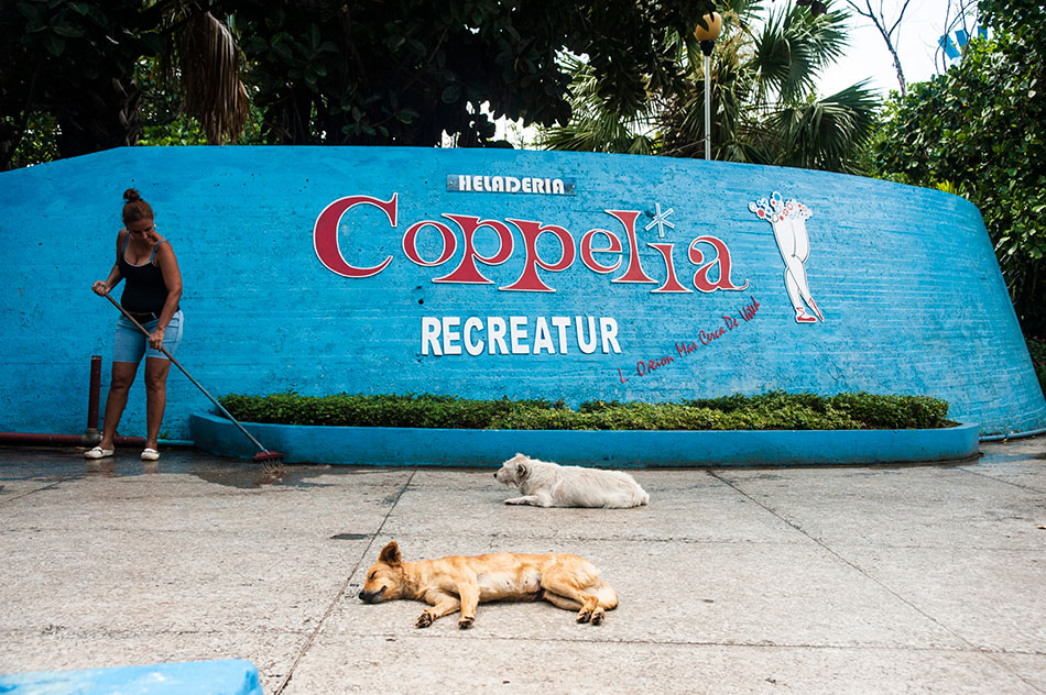 Coppelia ice cream in Cuba