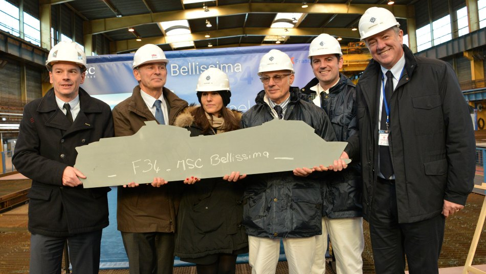 MSC start construction