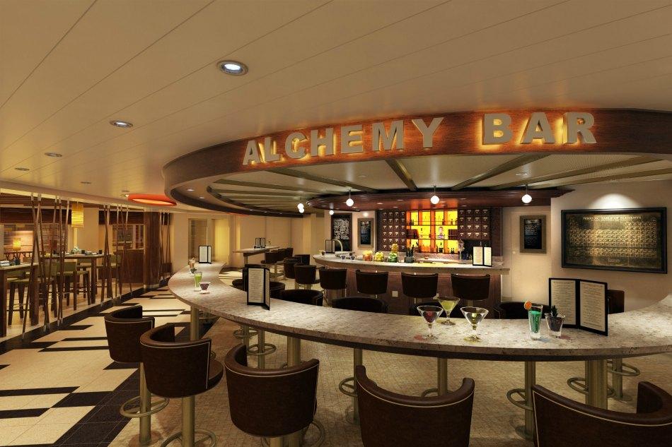 carnival achemy bar