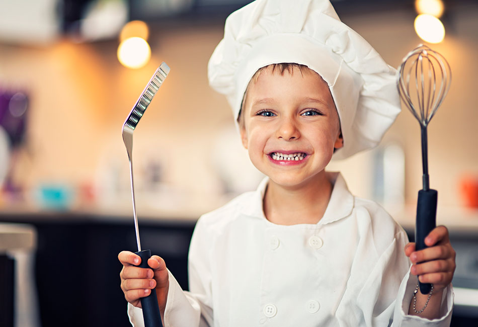 kids cooking series