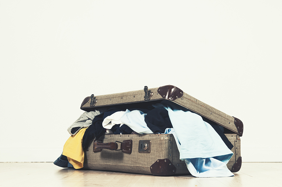 12 things suitcase