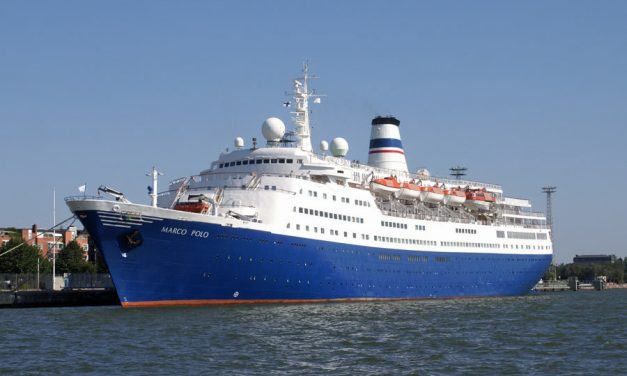 Cruise & Maritime's Marco Polo opens to the public while docked at London Cruise Terminal