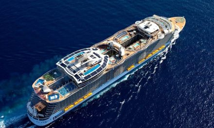 Royal Caribbean announces float-out of world's third biggest cruise ship