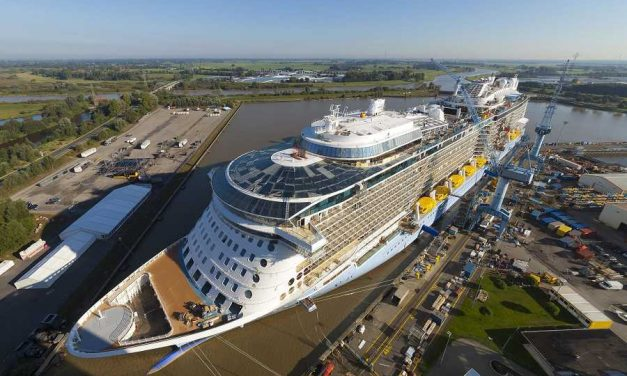 Partial float out for Anthem of the Seas