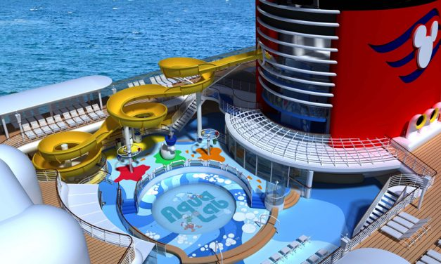 Water slides on a cruise ship – Will the trend continue?