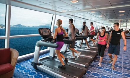 Celebrity Cruises donates gym equipment to youth centre