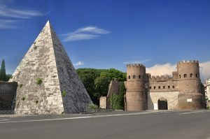 Rome Pyramid of Cestius