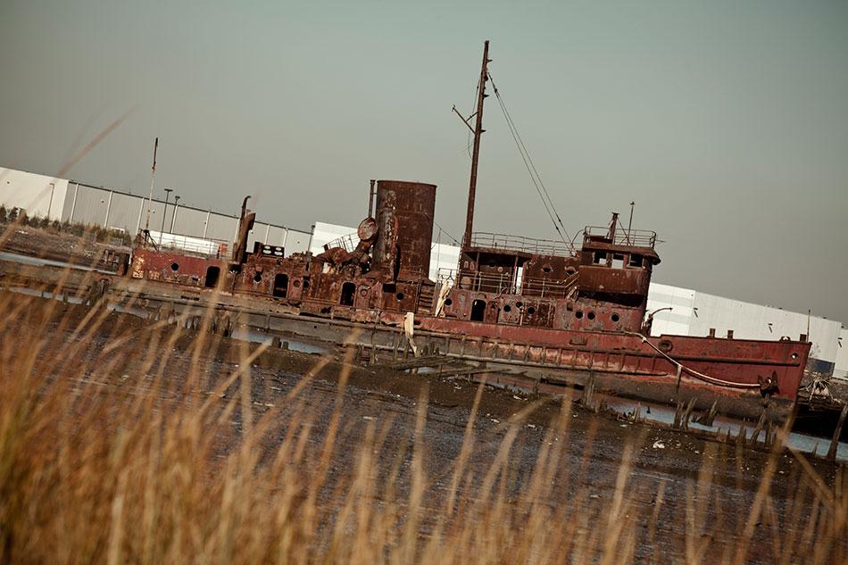 New York Boat Graveyard