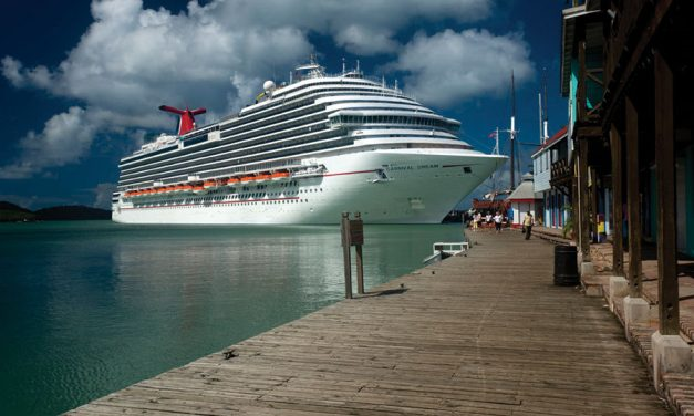 Carnival passenger almost stranded in undertow