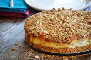 Caramelized Apple Crumble
