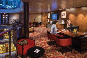 Future Cruise Sales desk