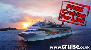 Win a free cruise with Carnival Corp