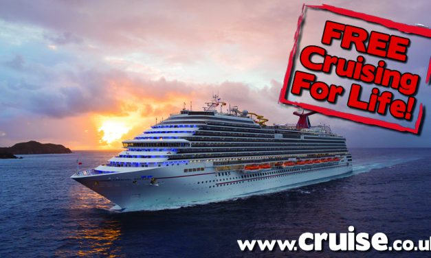 Win a cruise a year For LIFE With Carnival!