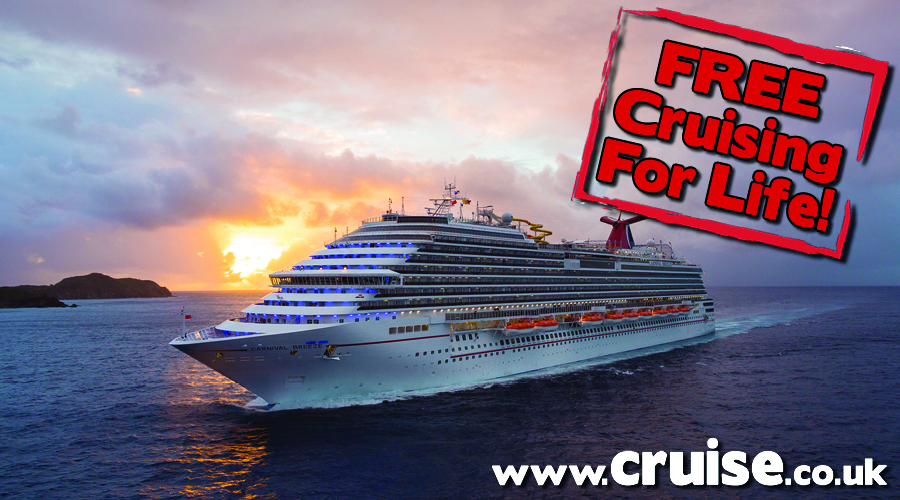 Win A Cruise A Year For Life With Carnival Cruise Bulletin