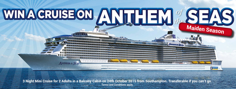 win a cruise on anthem of the seas