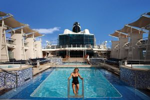 Outdoor Pool on Celebrity Eclipse