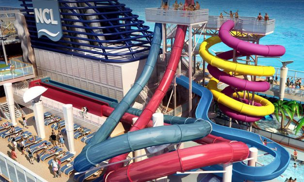 Make a splash in Norwegian Escape's water park