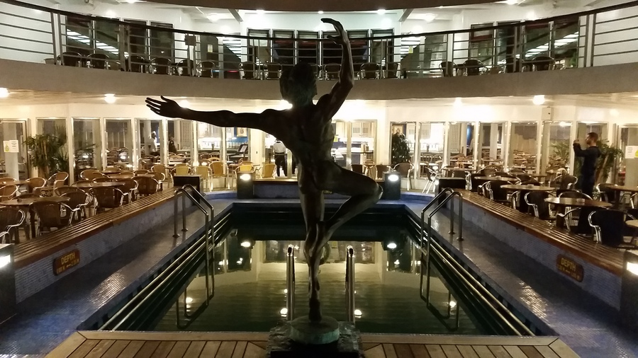 www.CRUISE.co.uk On-board the Marco Polo