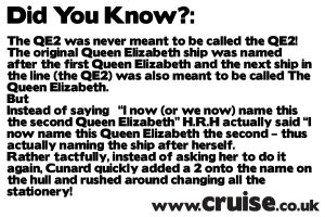 Did you Know - Cruise Fact