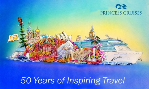 Princess Cruises debuts in Rose Parade