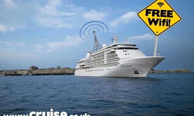 Luxury Cruise Lines Adds Free Wi-FI